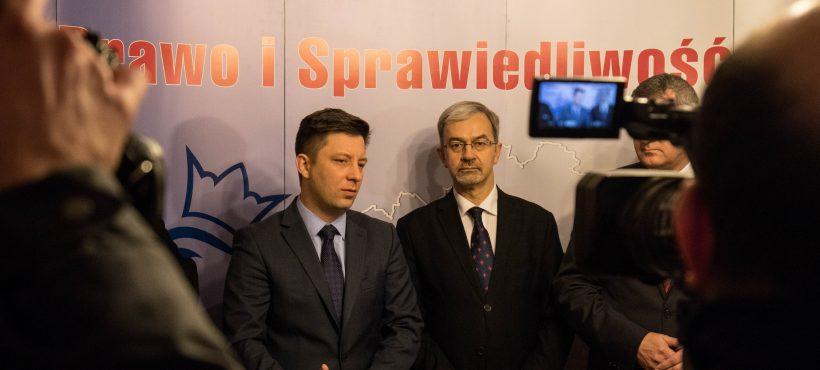 Konferencja dotycząca dofinansowania budowy obwodnicy Wałbrzycha