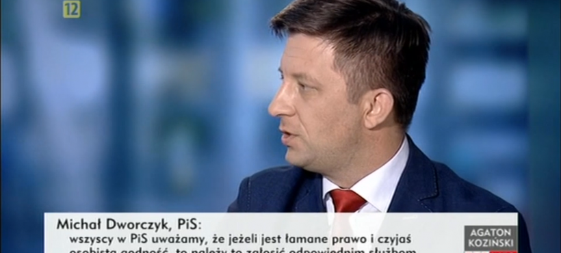Poprzecinku 29.08.2016 – dyskusja Michała Dworczyka zPawłem Zalewskim(PO)