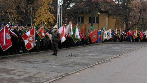 Obchody Święta Niepodległości 11 listopada wKłodzku iStrzegomiu