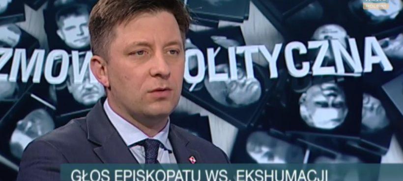 Rozmowa polityczna wPolsat News – zbliża się czas ekshumacji…