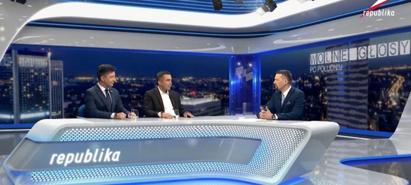 Telewizja Republika – Z. Gryglas (.Nowoczesna) iM. Dworczyk (PiS) – Wolne Głosy 27.10.2016