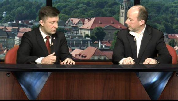 Gość Dnia Telewizji Wałbrzych – Michał Dworczyk 03.10.2016