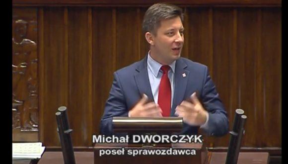 Poseł Michał Dworczyk – Wystąpienie zdnia 04 listopada 2016 roku.