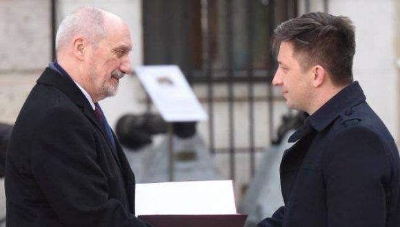 Michał Dworczyk Sekretarzem Stanu wMinisterstwie Obrony Narodowej