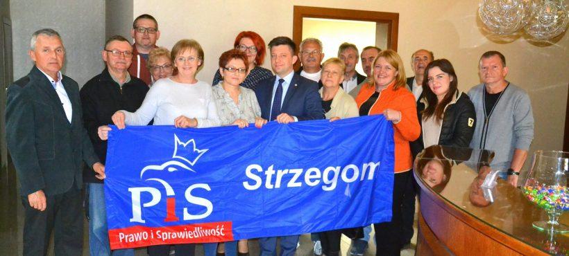 Spotkanie zkomitetami PiS Ziębice, Ciepłowody, Strzegom, Ząbkowice Śląskie