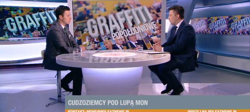 "Program ""Graffiti Popołudniowe"" wPolsat News"