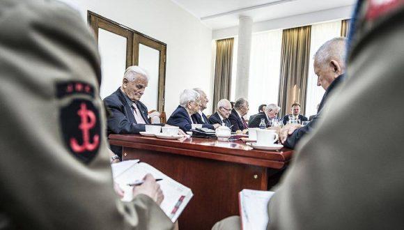 Spotkanie ześrodowiskami kombatanckimi