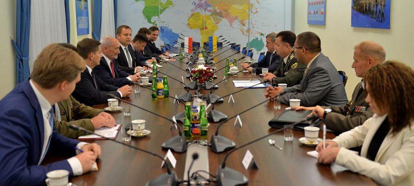 Spotkanie zMinistrem Obrony Ukrainy