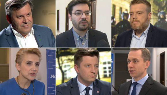"""Program """"Ława polityków"""" wTVN24"""