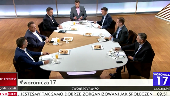 "Program ""Woronicza 17"" wTVP Info – 08.10.2017"