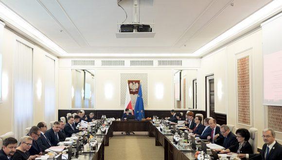 Posiedzenie rządu 07.11.2017