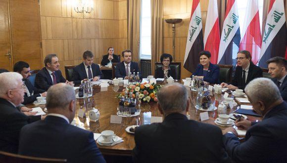 Spotkanie zPrezydentem Iraku