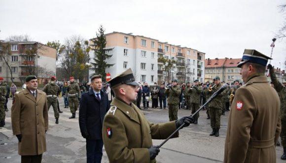 Przysięga żołnierzy WOT naLubelszczyźnie