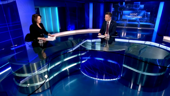 Gość Wiadomości TVP 05.03.2018
