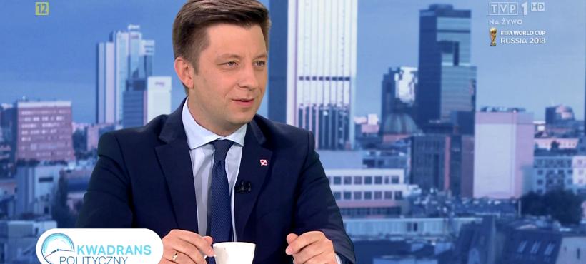 Kwadrans Polityczny wTVP1: 20.06.2018