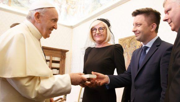 Wizyta Premiera Mateusza Morawieckiego wWatykanie